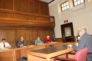 The NH Senate committee hears on the Bhutanese refugee issue