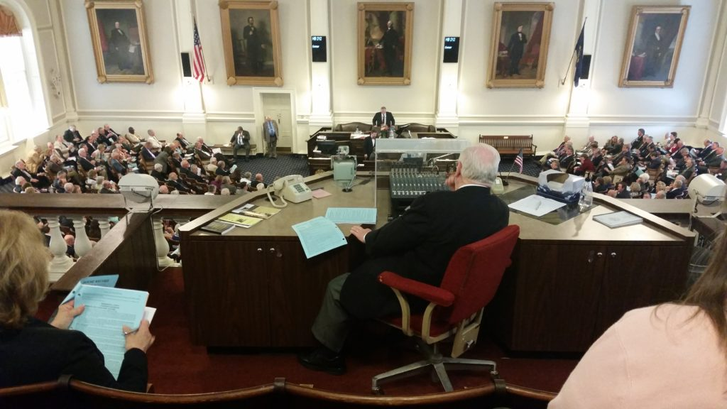NH House in resolution session