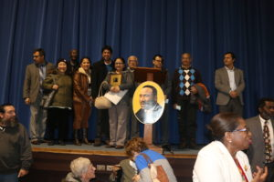 Bhutanese Community of NH- members at the award receiving event. Photo by: Guru Subedi